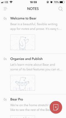 Why We Love Writing App, Bear, for Taking Notes on the Go