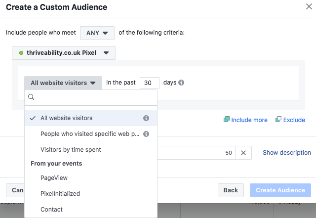 Facebook Ads Custom Audience Pixel