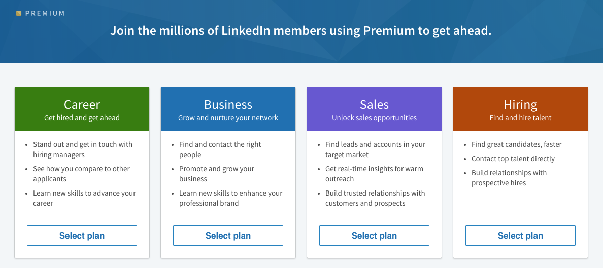 LinkedIn Premium Accounts