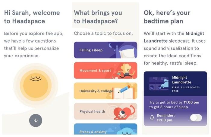 Headspace - mental health improvements