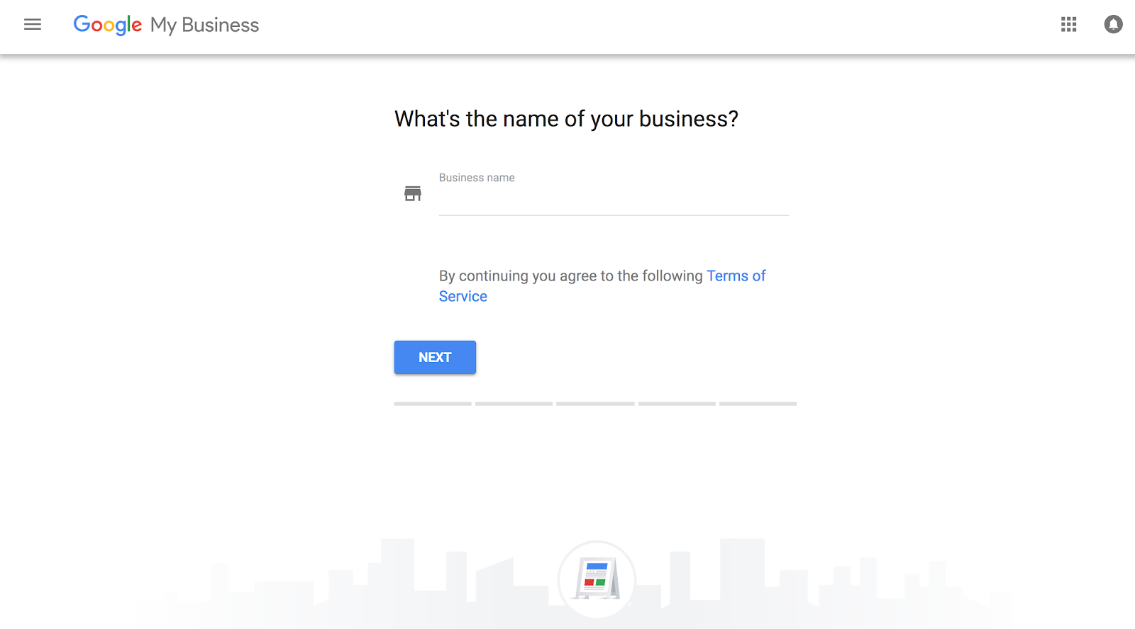 Google My Business - Business Name