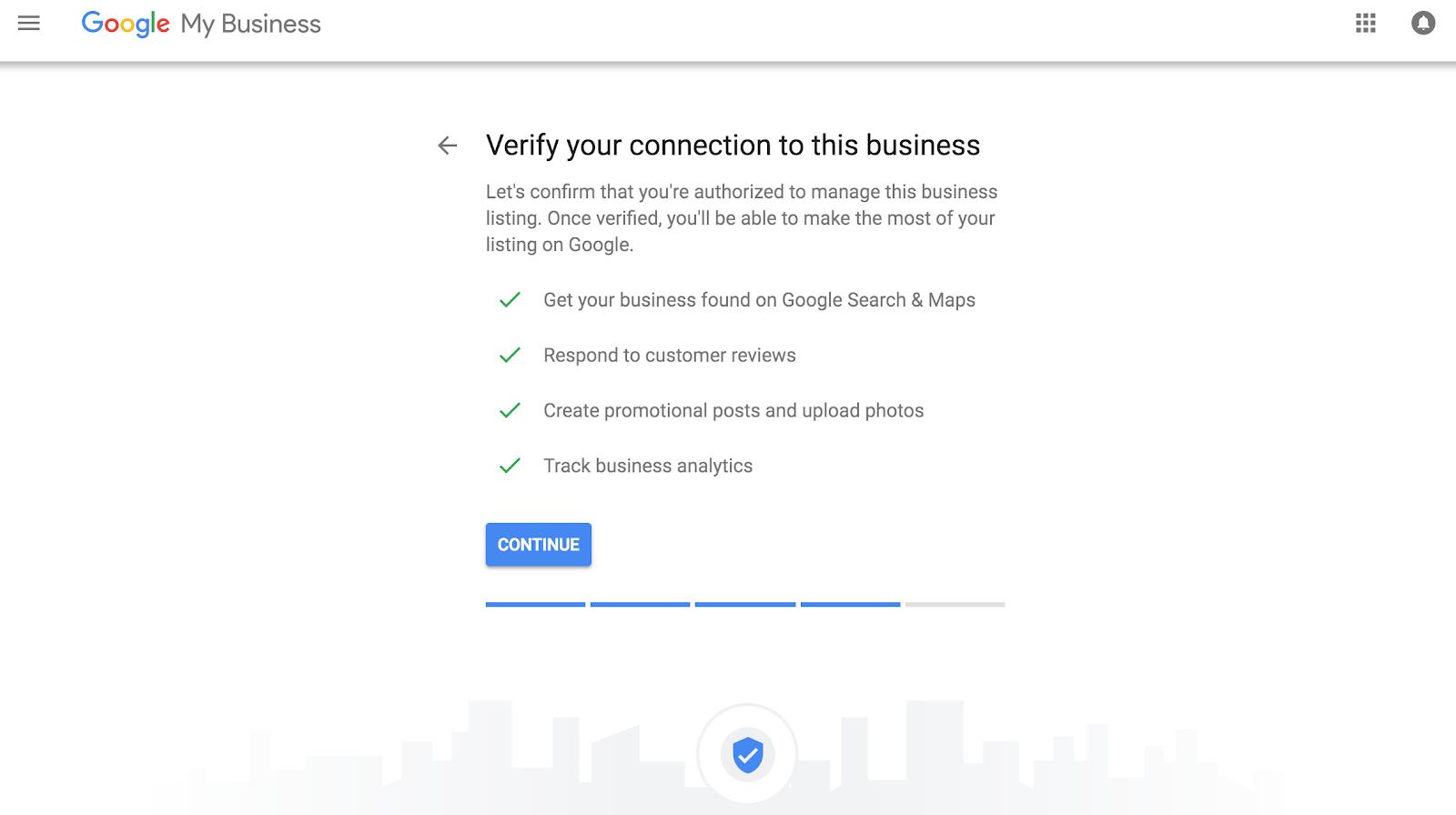 Google My Business - Verification