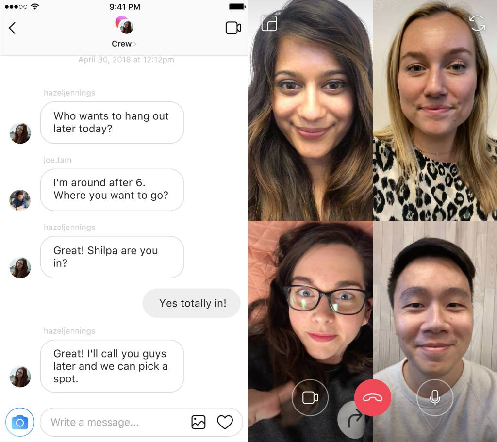 instagram-video-chat